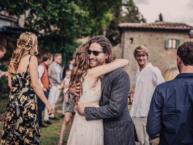 Il matrimonio di Patrick e Sophie a Greve in Chianti, Firenze 46