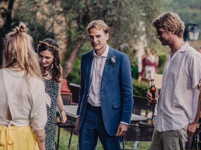 Il matrimonio di Patrick e Sophie a Greve in Chianti, Firenze 47