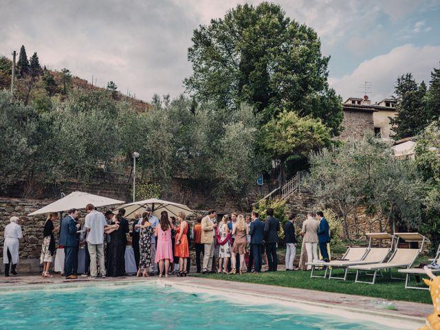 Il matrimonio di Patrick e Sophie a Greve in Chianti, Firenze 50