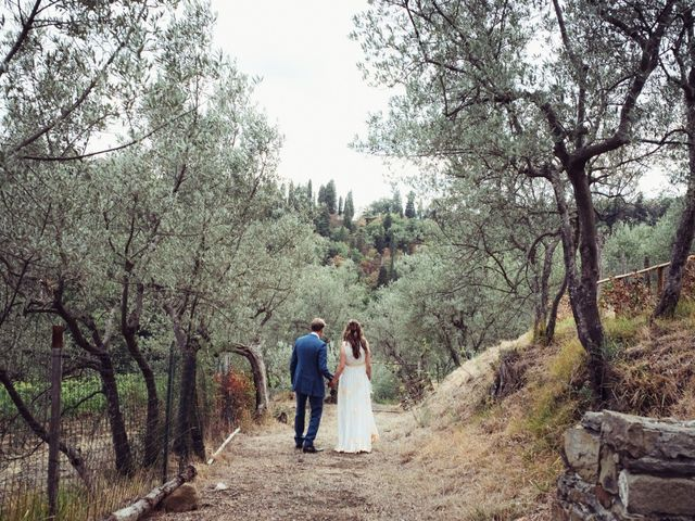 Il matrimonio di Patrick e Sophie a Greve in Chianti, Firenze 54