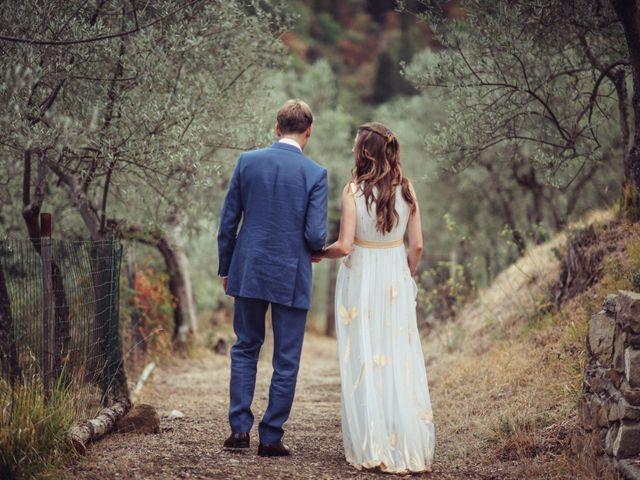 Il matrimonio di Patrick e Sophie a Greve in Chianti, Firenze 55