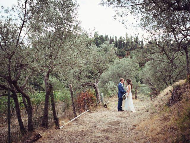 Il matrimonio di Patrick e Sophie a Greve in Chianti, Firenze 56