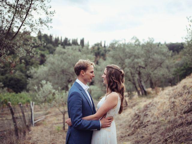 Il matrimonio di Patrick e Sophie a Greve in Chianti, Firenze 57