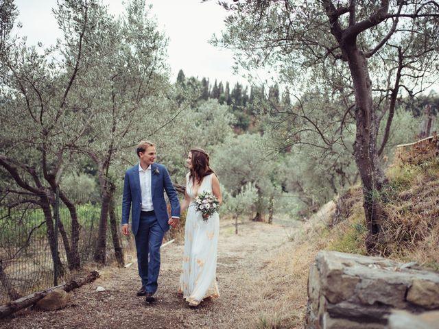 Il matrimonio di Patrick e Sophie a Greve in Chianti, Firenze 58