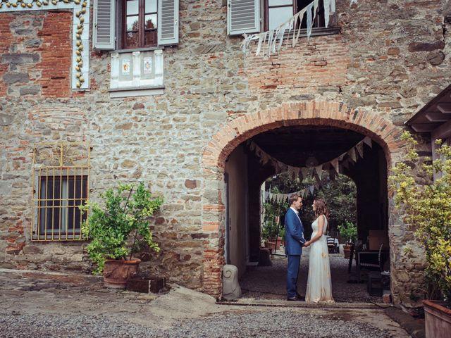 Il matrimonio di Patrick e Sophie a Greve in Chianti, Firenze 60
