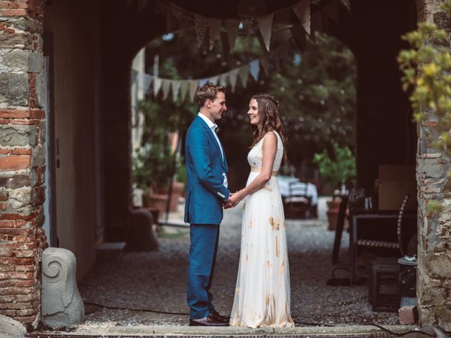 Il matrimonio di Patrick e Sophie a Greve in Chianti, Firenze 61