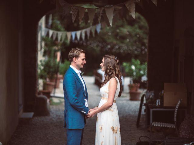 Il matrimonio di Patrick e Sophie a Greve in Chianti, Firenze 62
