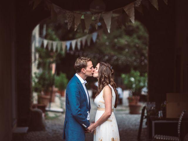 Il matrimonio di Patrick e Sophie a Greve in Chianti, Firenze 63