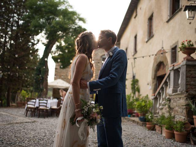 Il matrimonio di Patrick e Sophie a Greve in Chianti, Firenze 70