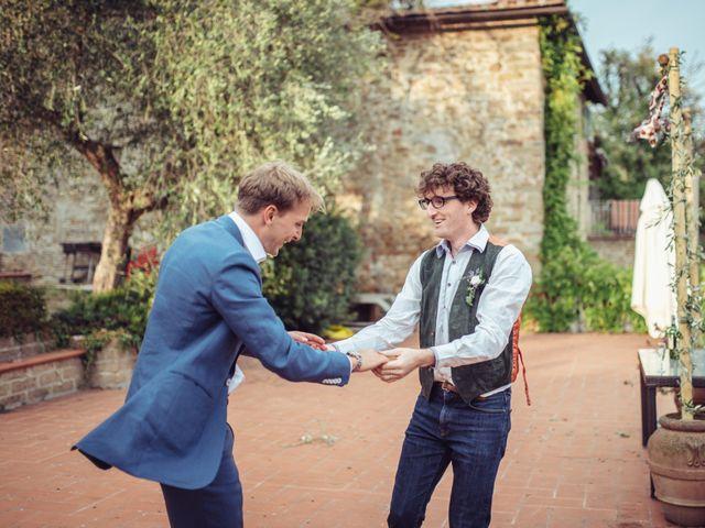 Il matrimonio di Patrick e Sophie a Greve in Chianti, Firenze 75