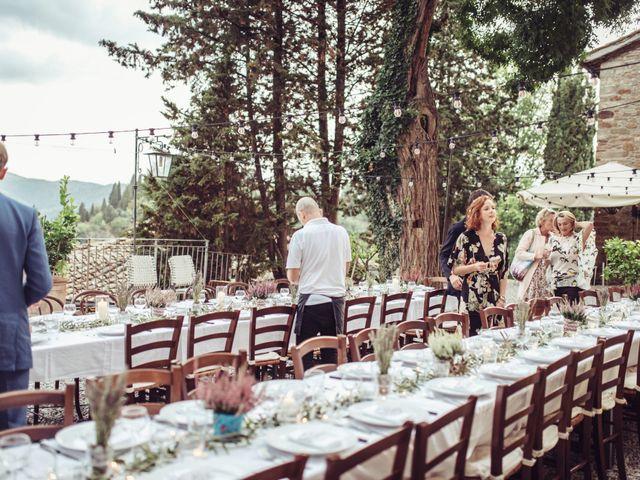 Il matrimonio di Patrick e Sophie a Greve in Chianti, Firenze 79