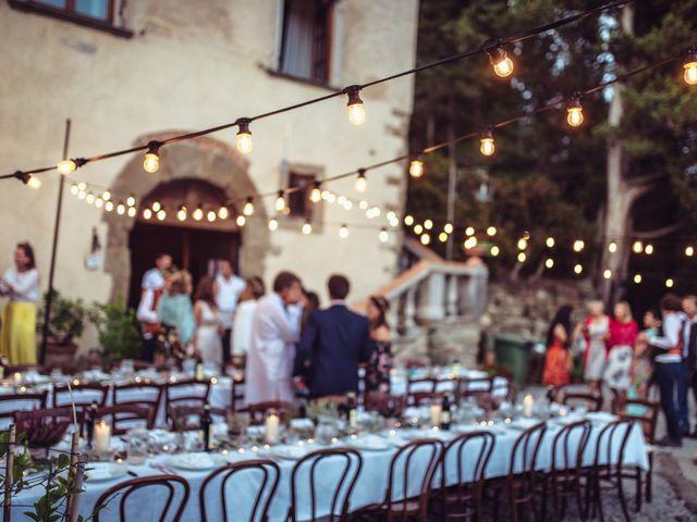Il matrimonio di Patrick e Sophie a Greve in Chianti, Firenze 80