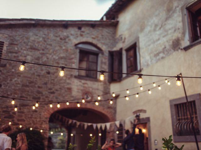 Il matrimonio di Patrick e Sophie a Greve in Chianti, Firenze 81