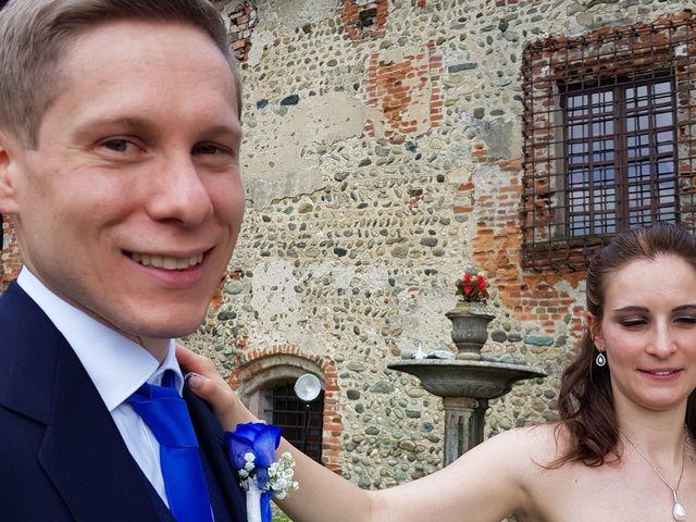 Il matrimonio di Gabriele e Eliana a Moncrivello, Vercelli 19