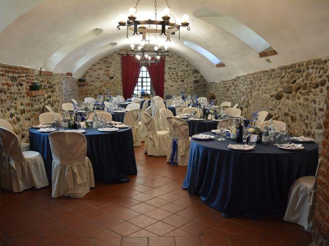 Il matrimonio di Gabriele e Eliana a Moncrivello, Vercelli 22
