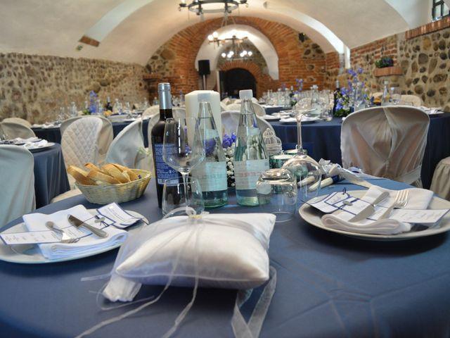Il matrimonio di Gabriele e Eliana a Moncrivello, Vercelli 27