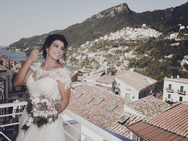 Il matrimonio di Ester e Leandro a Vietri sul Mare, Salerno 16