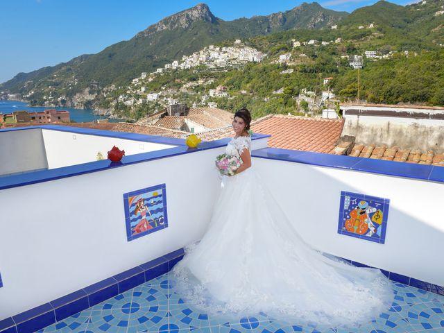 Il matrimonio di Ester e Leandro a Vietri sul Mare, Salerno 18