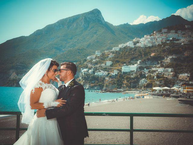 Il matrimonio di Ester e Leandro a Vietri sul Mare, Salerno 20