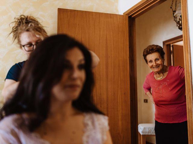Il matrimonio di Emanuela e Alberto a Castignano, Ascoli Piceno 15