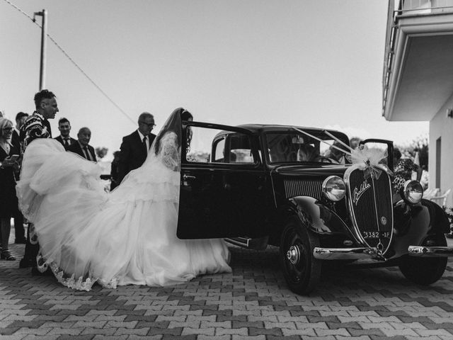 Il matrimonio di Emanuela e Alberto a Castignano, Ascoli Piceno 52