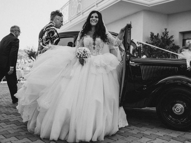 Il matrimonio di Emanuela e Alberto a Castignano, Ascoli Piceno 53