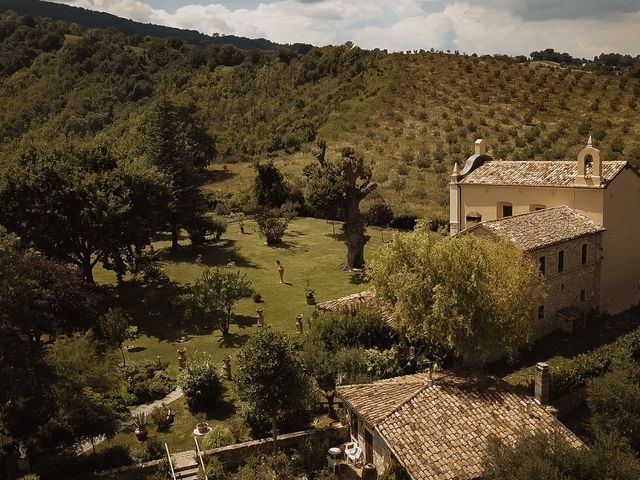 Il matrimonio di Emanuela e Alberto a Castignano, Ascoli Piceno 55