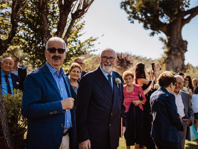 Il matrimonio di Emanuela e Alberto a Castignano, Ascoli Piceno 67