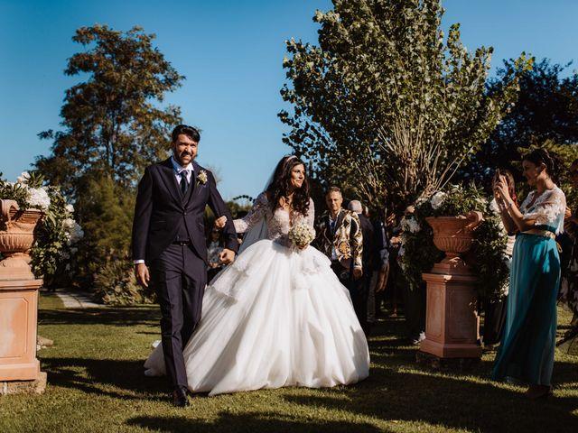 Il matrimonio di Emanuela e Alberto a Castignano, Ascoli Piceno 70