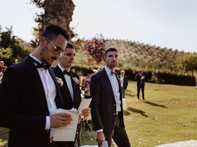 Il matrimonio di Emanuela e Alberto a Castignano, Ascoli Piceno 72