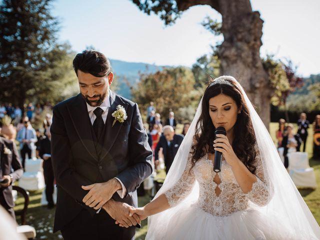 Il matrimonio di Emanuela e Alberto a Castignano, Ascoli Piceno 79