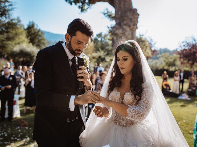 Il matrimonio di Emanuela e Alberto a Castignano, Ascoli Piceno 80