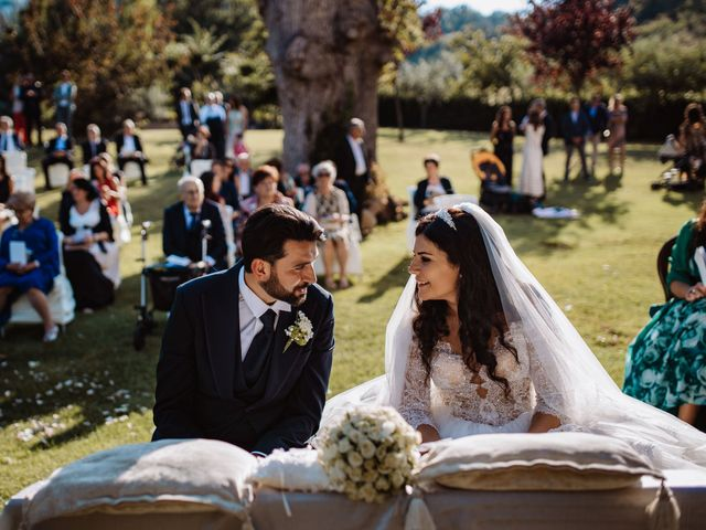 Il matrimonio di Emanuela e Alberto a Castignano, Ascoli Piceno 81