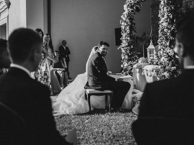 Il matrimonio di Emanuela e Alberto a Castignano, Ascoli Piceno 82