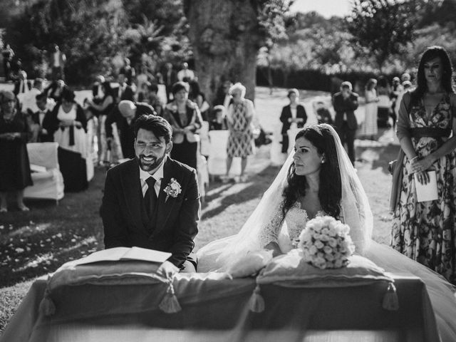 Il matrimonio di Emanuela e Alberto a Castignano, Ascoli Piceno 83