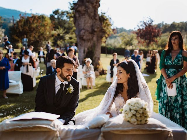 Il matrimonio di Emanuela e Alberto a Castignano, Ascoli Piceno 85