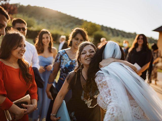 Il matrimonio di Emanuela e Alberto a Castignano, Ascoli Piceno 87