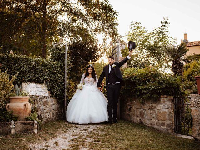 Il matrimonio di Emanuela e Alberto a Castignano, Ascoli Piceno 92