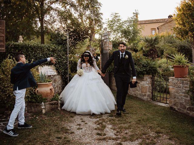 Il matrimonio di Emanuela e Alberto a Castignano, Ascoli Piceno 93
