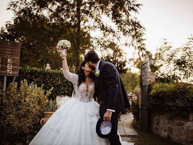 Il matrimonio di Emanuela e Alberto a Castignano, Ascoli Piceno 95