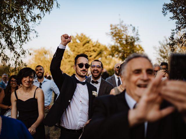 Il matrimonio di Emanuela e Alberto a Castignano, Ascoli Piceno 96
