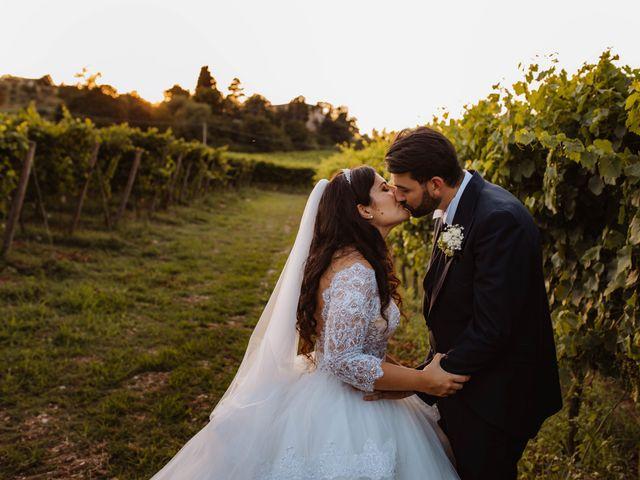 Il matrimonio di Emanuela e Alberto a Castignano, Ascoli Piceno 99