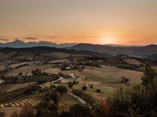 Il matrimonio di Emanuela e Alberto a Castignano, Ascoli Piceno 104