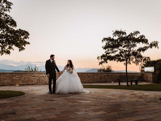 Il matrimonio di Emanuela e Alberto a Castignano, Ascoli Piceno 105