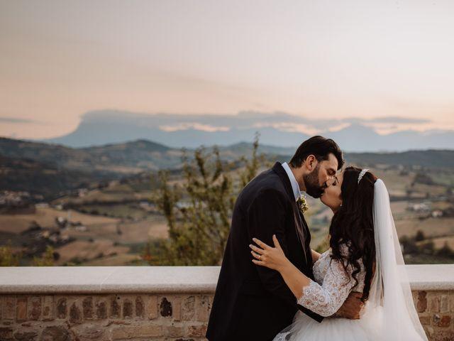 Il matrimonio di Emanuela e Alberto a Castignano, Ascoli Piceno 107