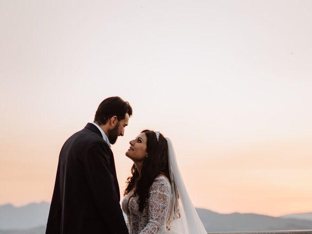 Il matrimonio di Emanuela e Alberto a Castignano, Ascoli Piceno 108