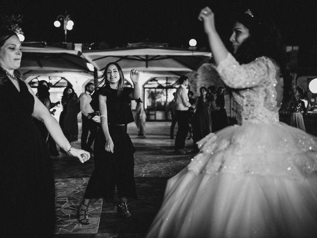 Il matrimonio di Emanuela e Alberto a Castignano, Ascoli Piceno 137