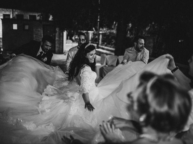 Il matrimonio di Emanuela e Alberto a Castignano, Ascoli Piceno 153
