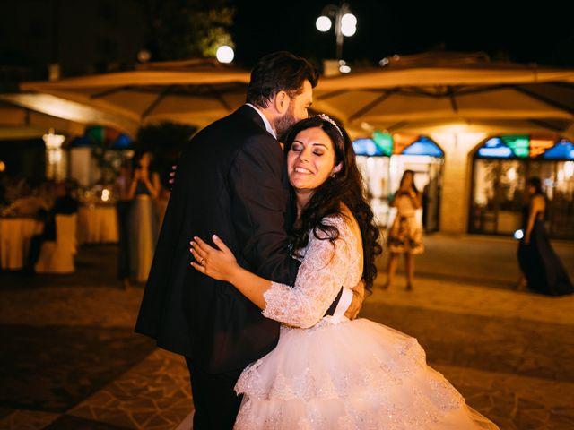 Il matrimonio di Emanuela e Alberto a Castignano, Ascoli Piceno 155