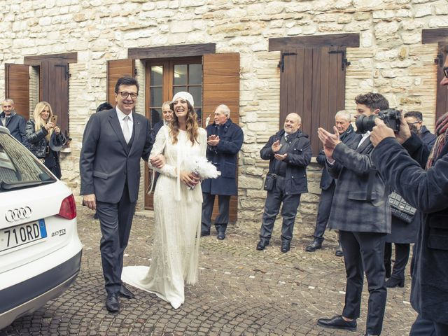 Il matrimonio di Daniele e Valeria a Serra Sant'Abbondio, Pesaro - Urbino 12